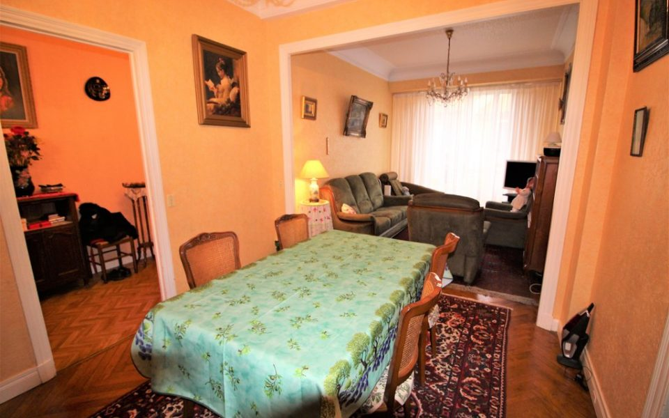 Cimiez – Large 3 bedroom apartment 84 sqm with independent studio