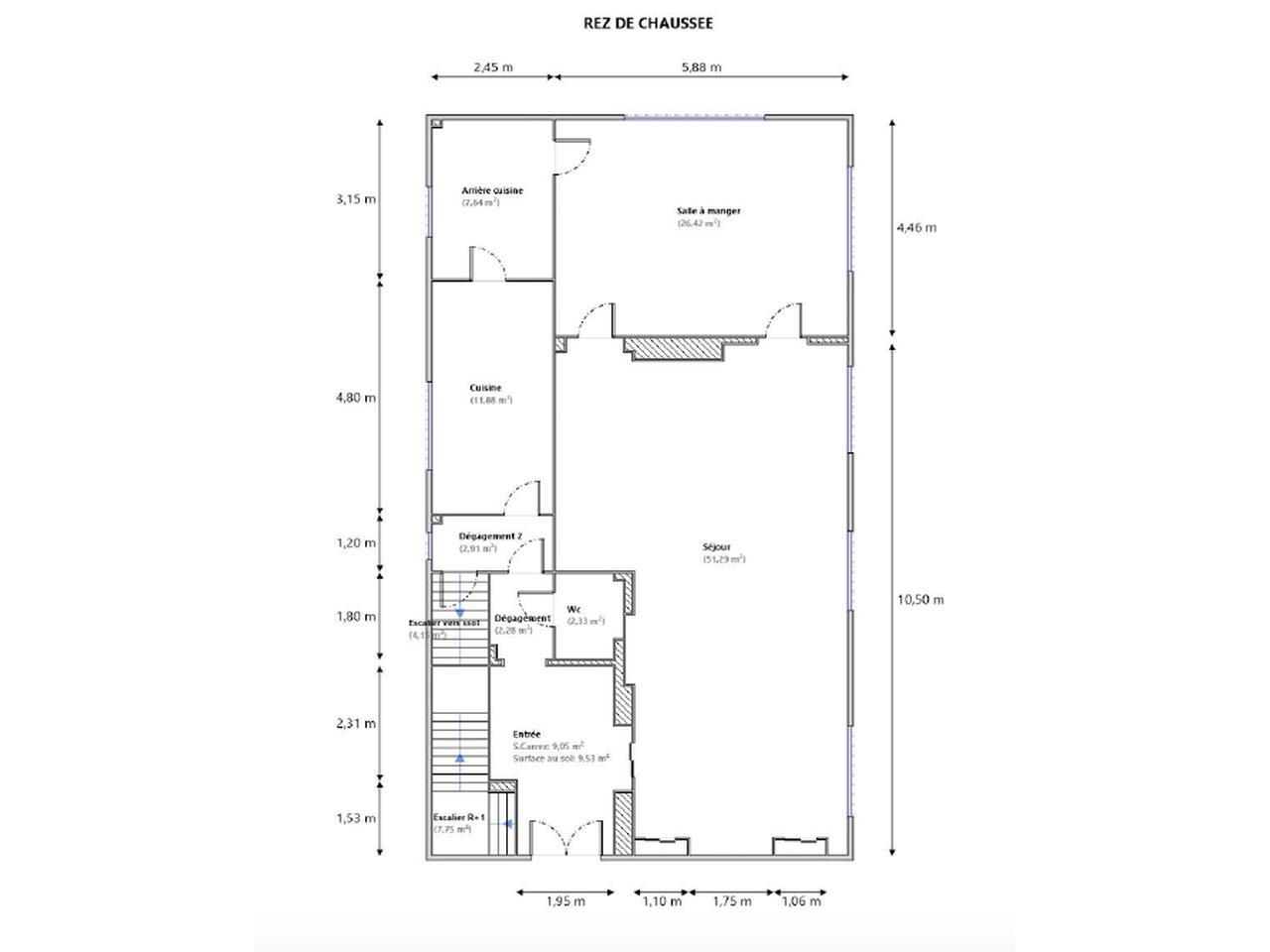 Modern Style Villa in Nice – Cimiez : plan