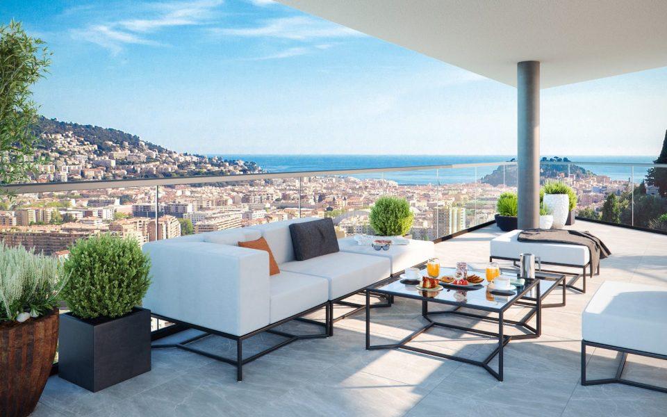 Il vostro studio all'ultimo piano con terrazza nella nuova residenza : photo 2