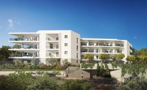 Prestigious 4-room apartment in a new residence in Cimiez