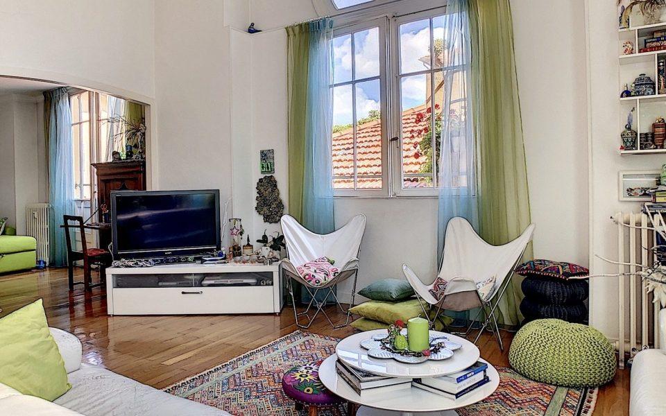Nice Cimiez – Duplex de charme 135 m2 dans résidence néo mauresque du 19ème siècle : photo 3