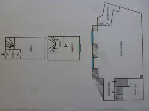 Bas Cimiez – Atypique 3 Pièces en duplex dans Palais Niçois