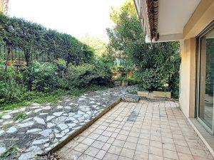 Coeur Cimiez – Deux pièces en rez de jardin dans résidence luxe avec piscine