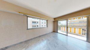 Nizza Cimiez – Grazioso appartamento di 4 locali di 94m2 in residenza alberata