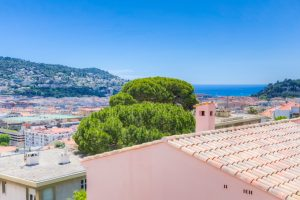 Nice Cimiez – One bedroom Apartment Top Floor With Balcony and Sea View