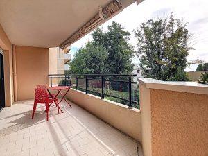 Nice Cimiez – Beau 2 pièces avec terrasse au calme