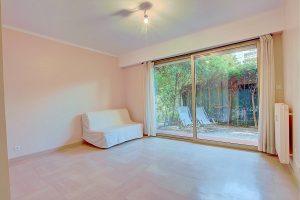 Nice Cimiez – Beau 2 pièces 37m2 en rez de jardin avec terrasse