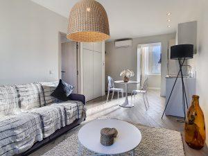 Quartier Port de Nice – Situation idéale pour superbe 2 pièces meublé