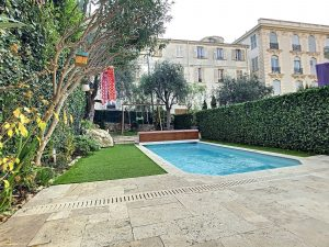 Your apartment-house of 110 m² with private swimming pool in the heart of Cimiez