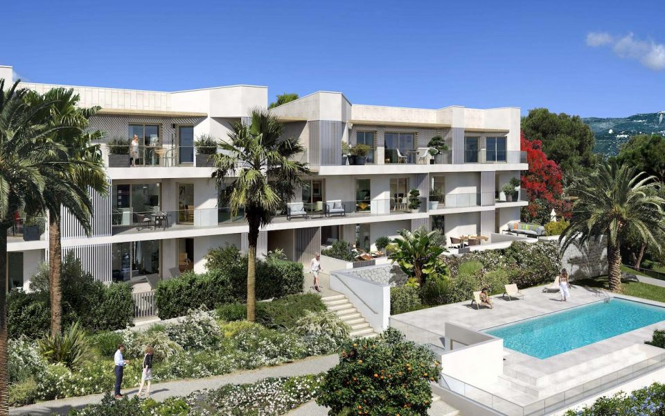Nizza Ovest – Bilocale 44 m² piano terra con giardino : photo 3