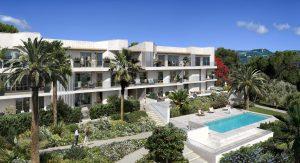 Nizza Ovest – Bilocale 44 m² piano terra con giardino