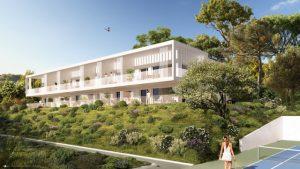 Beau 4 Pièces 83.7 m² en rez de jardin dans résidence luxe avec jardin