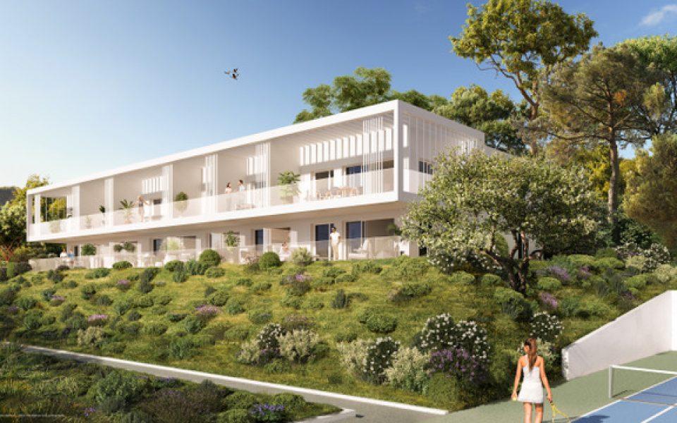 Beau 4 Pièces 83.7 m² en rez de jardin dans résidence luxe avec jardin : photo 2