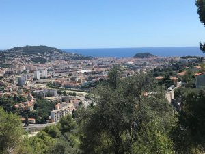 Saint André de la Roche -Land 2800 m² con splendida vista sul mare e sulla città