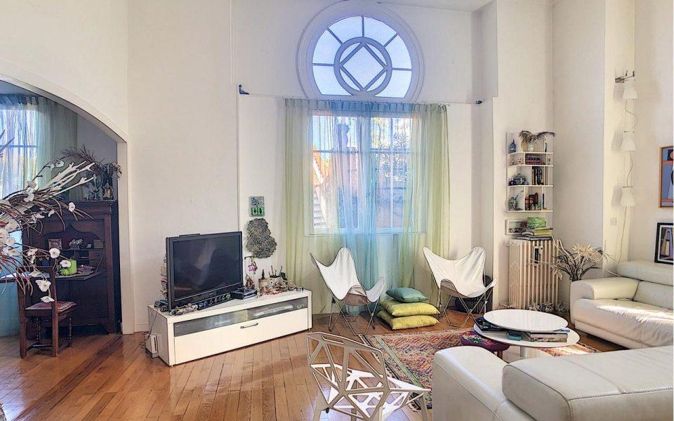 Nice Cimiez – Duplex de charme 135 m2 dans résidence néo-mauresque du 19ème siècle