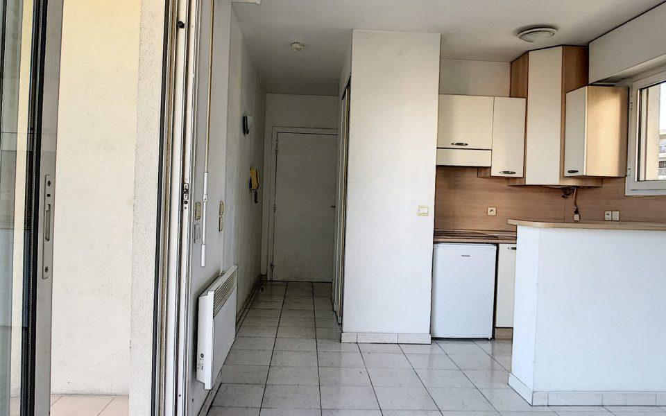 Sainte Marguerite – Studio 24m2 belle résidence avec parking