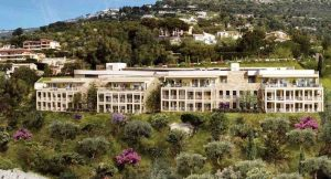 Sublime flat at the gates of Monaco facing the sea
