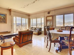 Nice Corniche André de Joly – Large 2 Bedrooms Appartment with Panoramic View