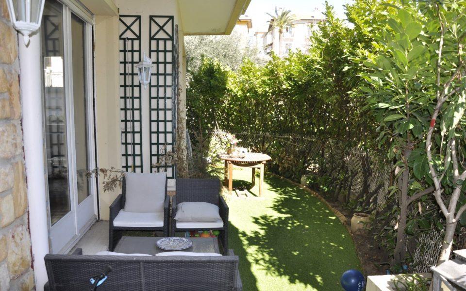 Nice Cimiez- Lumineux 3 pièces 70m2 en rez de jardin