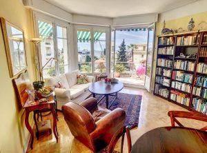 Cimiez – Bel appartamento di 3 stanze all'ultimo piano con terrazza e vista panoramica