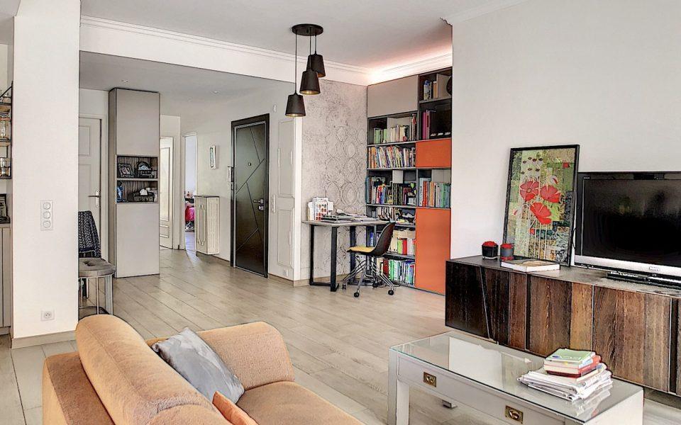 Nice Cimiez – Beau 5 Pièces 114 m² entièrement refait en 2018