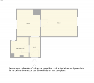 Nice Carabacel – Studio 21m2 proche commodités dernier étage