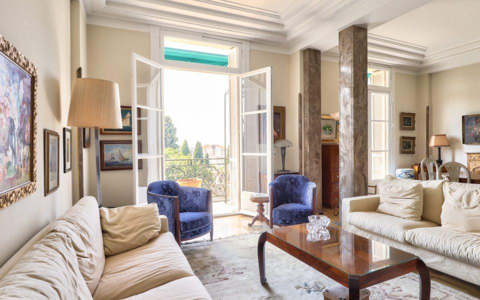 Nice Cimiez – Gorgeous 5 Bedrooms Flat 160 sqm Wonderful Sea & Garden View : photo 2
