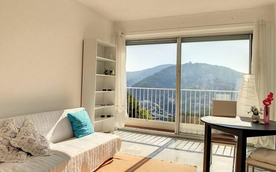Cimiez Cap-de-Croix – 2 Pièces meublé 43 m² avec vue Observatoire